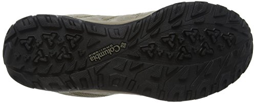 Columbia NORTH PLAINS DRIFTER WATERPROOF, Chaussures de Randonnée Basses homme Gris - Grey (227)