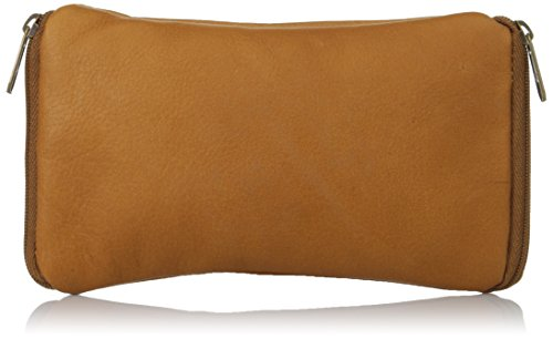 david-king-co-double-eyeglass-case-tan-one-size