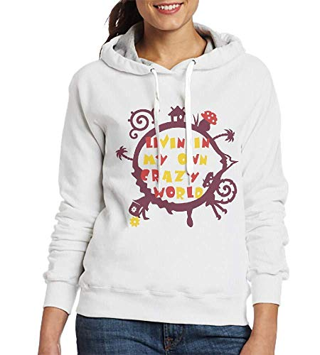 Sweatshirt Hoodie My Own Crazy World 1 2 3 Colors
