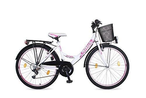 26 ZOLL Kinder Fahrrad Damenfahrrad Cityfahrrad Citybike Mädchenfahrrad Bike VOLTAGE LADY WEISS