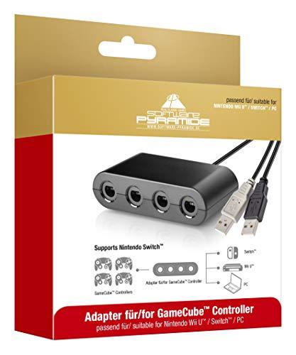 Adapter für | Nintendo Switch | Wii U | PC USB | mit 4 Slots ()