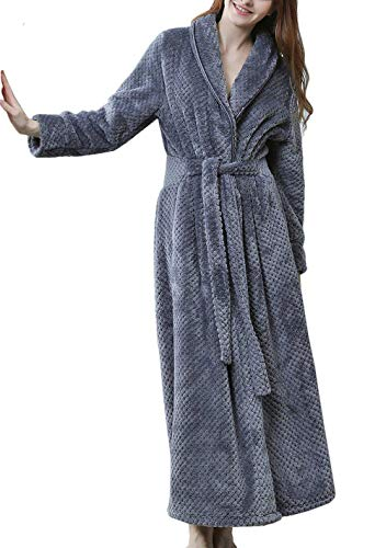 Pronghorn Vestido Franela Invierno Mujer Bata Lana