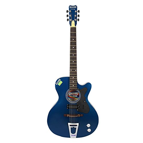 Givson Cambridge, 6-Strings, Semi-Electric Guitar, Right-Handed, Blue, With Guitar Cover/Bag  available at amazon for Rs.5300