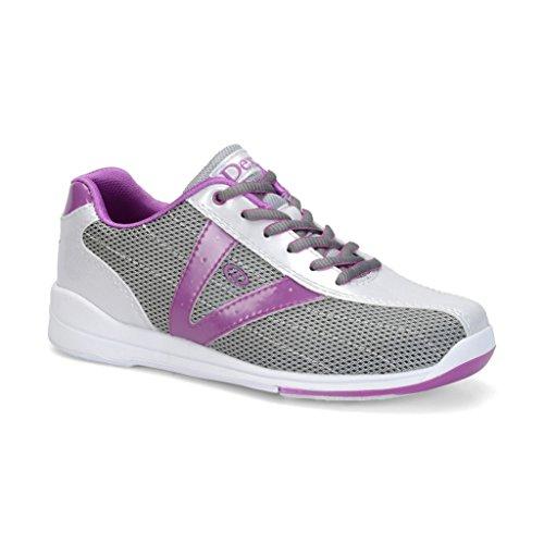 Dexter Vicky, Damen, Silver/Grey/Purple, 11 - Dexter Bowling-schuhe Sst
