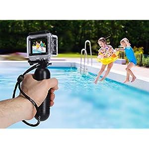Rollei Actioncam 540 – WiFi Actionkamera mit 4k Video-Auflösung und Weitwinkelobjektiv, 2″ LCD-Display, Loop-, Zeitraffer-, Slowmotion-Funktion, 16 MP Fotofunktion, bis 40 m wasserdicht