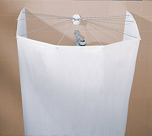 KLEINE WOLKE Duschvorhang Spider weiß