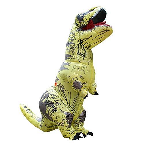 T Kostüm Kid Rex - LIANA IRWIN T Rex Aufblasbares Dinosaurier Kostüm Jurassic Adults Kids Kleidung Halloween Christmas Fun Kostüm