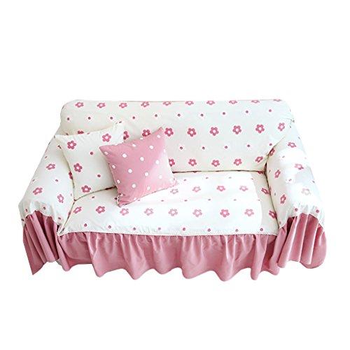 Jd fodera copridivano rosa antipolvere morbido panno addensato copriscarpa verde rinfrescante asciugamano resistente doppio colore fiori elegante (dimensioni : 300cm*200cm)