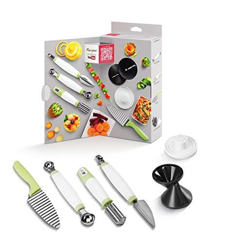 Metaltex 254002080 Deko Food Kochbox, Verschieden