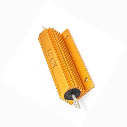 kingnew Gold Aluminium Clad Power Widerstand Widerstand 100W, 1Ohm 1R