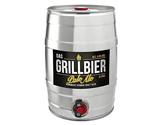 Das Grillbier 5 Liter Bierfass Pale Ale frisch gezapft zum Grillen -