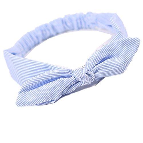 Hacoly Fliege Stirnband Sport Kopfband Retro Streifen Kreuz Haar Band Kopfschmuck Damen Yoga Headbands Make Up Haarbänder Haar Tiara Erfrischend Haarreifen...