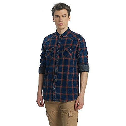 Mavi Jeans Herren Oberteile/T-Shirt Indigo, Größe:XXL (Lauren Jeans Indigo)