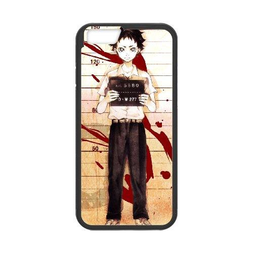 Deadman Wonderland coque iPhone 6 Plus 5.5 Inch Housse téléphone Noir de couverture de cas coque EBDXJKNBO12709