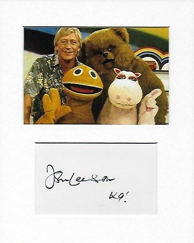 arc-en-ciel–Bungle–John Larrikin authentique à la main signé autographe Aftal COA
