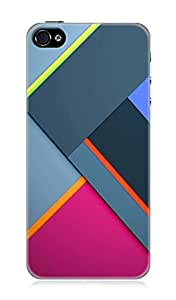 Apple iPhone 4 or 4s 3Dimensional High Quality Designer Back Cover by 7C