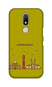 ZAPCASE Printed Back Cover for Motorola Moto M