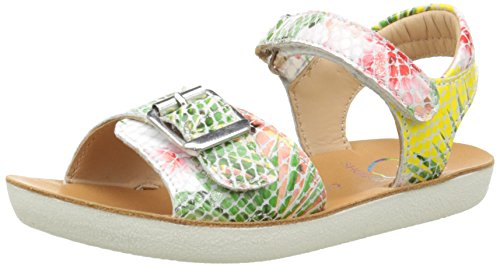 ShoopomGoa Sandal Girl - Sandali Bambina , Multicolore (Multicolore (Jaune Multi)), 32
