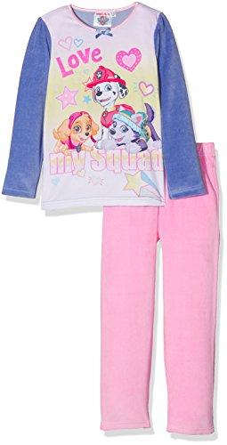 Nickelodeon Mädchen Pyjama-Sets Paw Patrol Lovely Print, Blau, 3-4 Jahre (Blue Paw Print)
