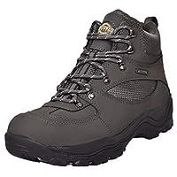 NORTHWEST TERRITORY Mens Terrain Lace UP Premium Leather Upper Waterproof Walking/Hiking Trekking Boot (UK9, Grey Hunter2)