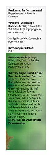 beaphar Bug Powder | Medium Mites at Kleintieren | Flea Protection | Also to Prevent Lice Suitable | 30 G Can 5