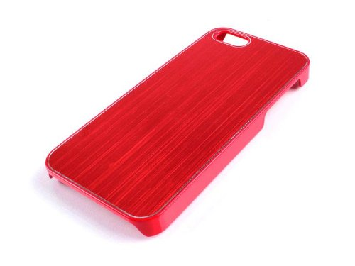 Coque Reekin pour iPhone 5/5S - Metal Case IC-007 (Red)