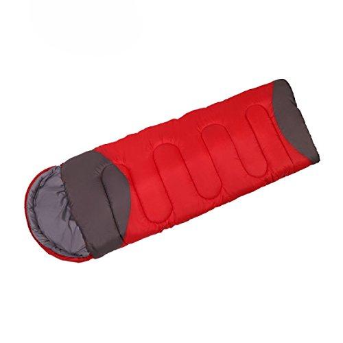 Gute Sleeper (Qweas Frühling Winter Im Freien Schlafsäcke Pflege Schlaf Multiplayer Steppdecke Große Gute Qualität Erwachsene Matte Jede Schlafposition Schnee 3D Trim Zug Sleeper,2.3kgRandom-AllCode)