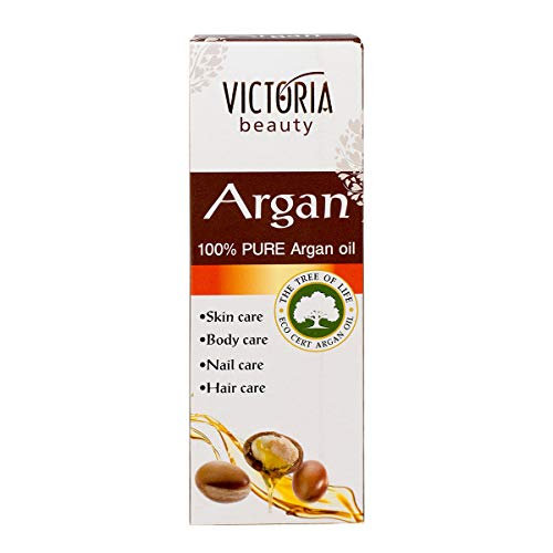 Victoria Beauty - 100% reines Arganöl kaltgepresst aus Marokko - Körper und Haaröl-ECO CERT...