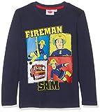 Sam Le Pompier Jungen 5408 T-Shirt, Blau (Bleu Marine Bleu Marine), 6 Jahre