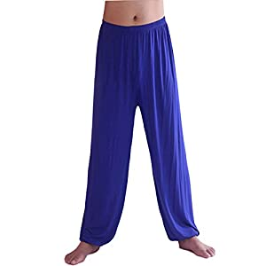 ZongSen Herren Super Weiches Modal Yoga Harem Fitness Pilates Pumphose Ballonhose Aladinhose Freizeit Hosen