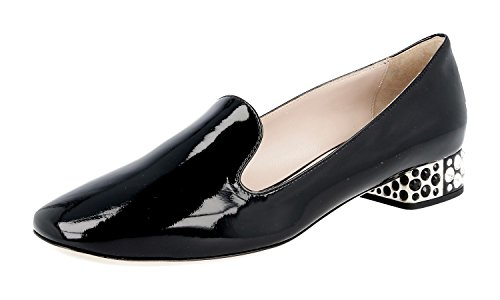 Miu-Miu-Womens-5S9744-069-F0002-Leather-Court-ShoesPumps
