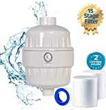 Kizher 15 Stage Shower Filter for Hard Water Set
