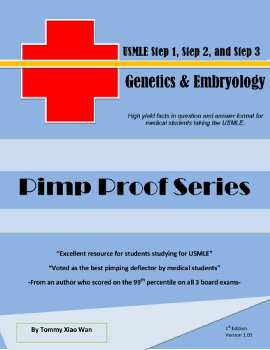 Pimp Proof Series – Genetics And Embryology For Usmle Step 1, Step 2, And Step 3 por Tommy Xiao  Wan epub