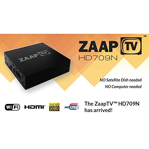 Zaap TV HD709N Arabic IPTV Set Top Box 2 Years