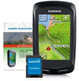 Garmin GPS Radcomputer Edge 800 Bundle inkl. Topo TransAlpin (microSD), schwarz/weiß, M10-DE100-10