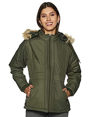 Qube By Fort Collins Women's Jacket (5916AZ_Olive_M)