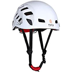 1 pcs Casco De Escalada Rappel Proteger Engranaje Al Aire Libre Del Alpinismo De Seguridad - Blanco, 54-62cm