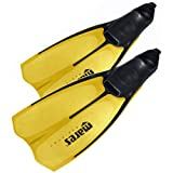 Mares Explorer Full Foot Scuba Diving/Snorkeling Fins. Yellow. Size: 38 - 39, UK 5 - 6.5 by Mares