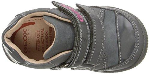 Geox B New Balu' B, Chaussures Marche Bébé Fille Grau (DK GREY/MULTICOLORC1715)