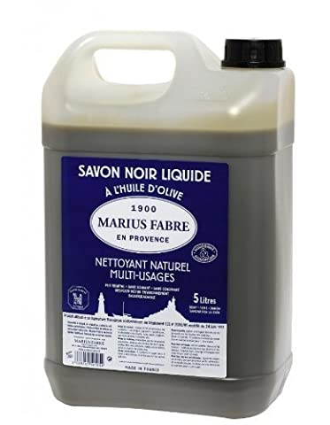 Marius Fabre 'Le Lavoir'- Olivenöl-Schmierseife/Schwarze Seife, 5 Liter
