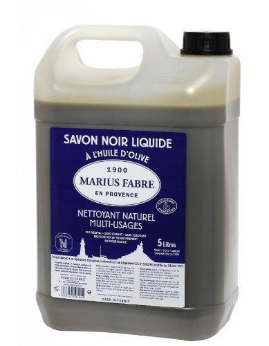 Marius Fabre 529 Le lavoir Savon à l'Huile d'Olive 5L Noir