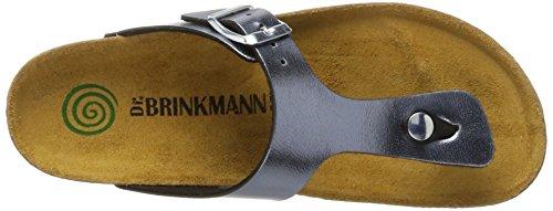 Dr. Brinkmann Damen 701098 Pantoletten Grau (Grau)