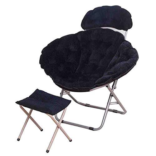 Faltbarer Queen Moon Stuhl Lazy Chair Radar Chair Lunch Break Chair Liegestuhl Sun Chair jgh/B
