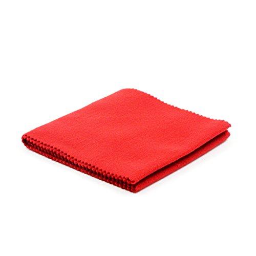 rosenice Klavier Tastatur Abdeckung Schutz Abdeckung Schlüssel Staubschutz für Klavier (rot)