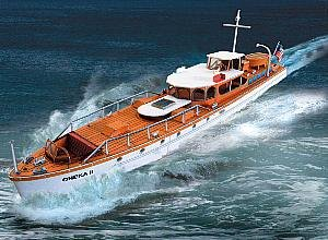 "aue-verlag 22x 4x 8cm ""oheka II Motor Yacht"" Model Kit von Aue-Verlag"