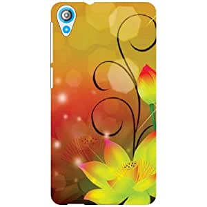 Back Cover For HTC Desire 820Q (Printed Designer)