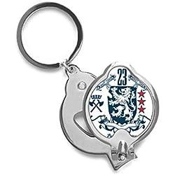 DIYthinker Espada medieval Knights Of Europa emblema del león de uñas Cortador de recorte