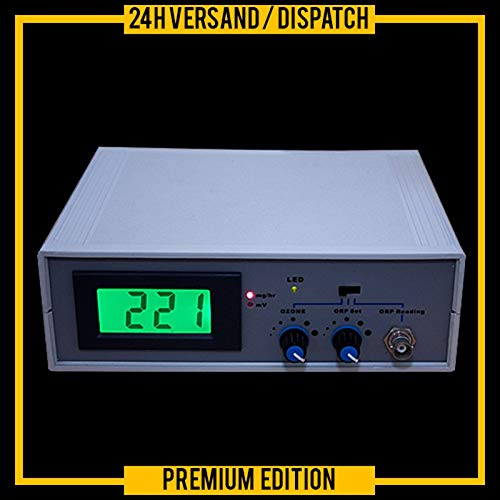 Kombigerät Ozonisator Ozon-Generator mit Redox-Controller Wasseraufbereitung ORP/PH OZ9 -
