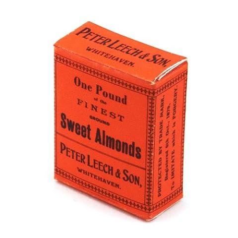 2 x MyTinyWorld Dolls House Miniature One Pound Sweet Almonds Boxes