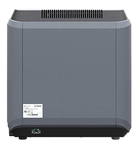 Monoprice Voxel 3D-Drucker - Schwarz/Grau mit abnehmbarer, beheizter Bauplatte (150 x 150 mm) Vollständig geschlossen, Touchscreen, unterstütztes Niveau, einfaches WLAN, 8 GB interner Speicher - 5